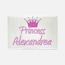 Princess Alexandrea Rectangle Magnet