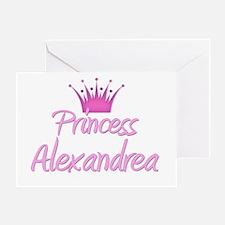 Princess Alexandrea Greeting Card