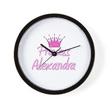 Princess Alexandra Wall Clock