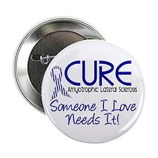 "CURE ALS 2 2.25"" Button (10 pack)"