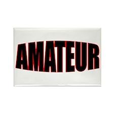 """""""AMATEUR"""" Rectangle Magnet"""
