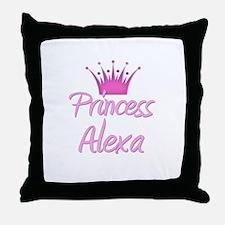 Princess Alexa Throw Pillow