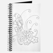 Bird of Paradise Color Your O Journal