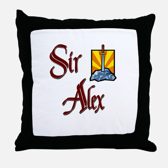 Sir Alex Throw Pillow