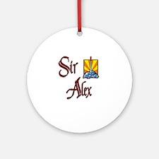 Sir Alex Ornament (Round)
