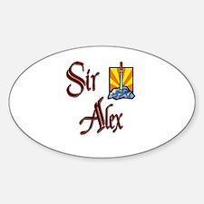 Sir Alex Oval Decal