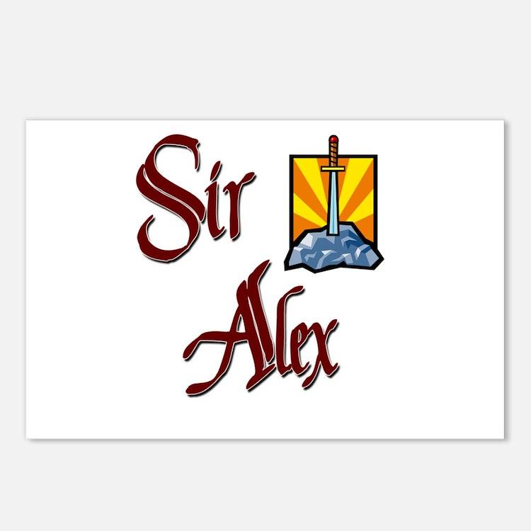 Sir Alex Postcards (Package of 8)