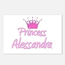 Princess Alessandra Postcards (Package of 8)