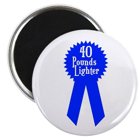 40 Pounds Award Magnet