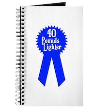 40 Pounds Award Journal