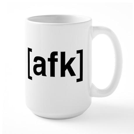 afk: Large Mug