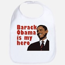 Barack Obama is my Hero Bib