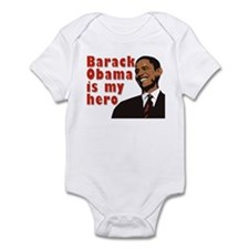 Barack Obama is my Hero Infant Bodysuit