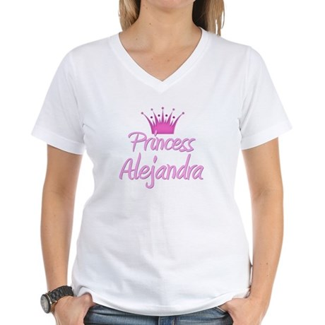 Princess Alejandra Women's V-Neck T-Shirt