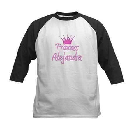 Princess Alejandra Kids Baseball Jersey