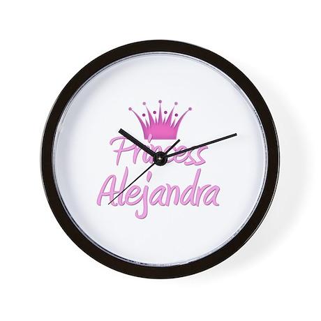 Princess Alejandra Wall Clock