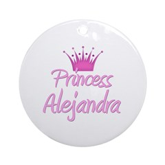 Princess Alejandra Ornament (Round)