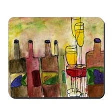 Tuscany Wine Mousepad