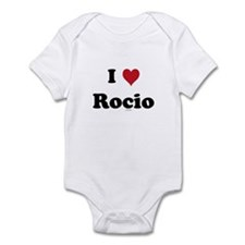 I love Rocio Infant Bodysuit