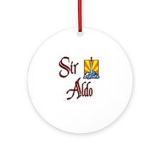 Sir Aldo Ornament (Round)