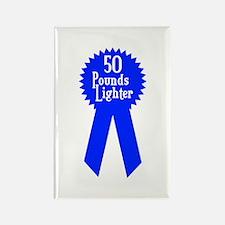 50 Pounds Award Rectangle Magnet