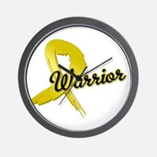 Childhood Cancer Warrior Wall Clock