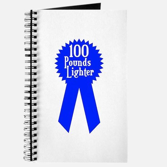 100 Pounds Award Journal