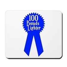 100 Pounds Award Mousepad