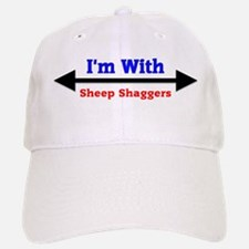 I'm With Sheep Shaggers Cap