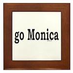 go Monica Framed Tile
