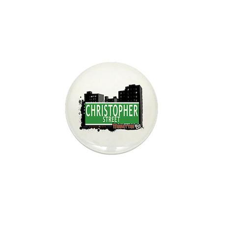 CHRISTOPHER STREET, MANHATTAN, NYC Mini Button