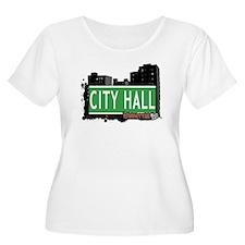 CITY HALL, MANHATTAN, NYC T-Shirt