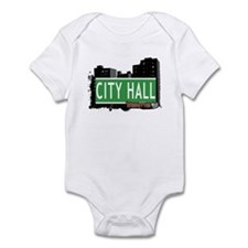 CITY HALL, MANHATTAN, NYC Infant Bodysuit