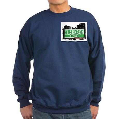 CLARKSON STREET, MAHATTAN, NYC Sweatshirt (dark)
