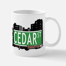 CEDAR STREET, MANHATTAN, NYC Mug