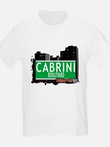 CABRINI BOULEVARD, MANHATTAN, NYC T-Shirt
