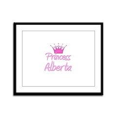 Princess Alberta Framed Panel Print
