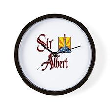 Sir Albert Wall Clock
