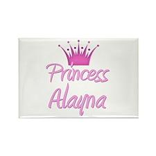 Princess Alayna Rectangle Magnet