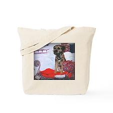 Border Terrier Holiday Tote Bag