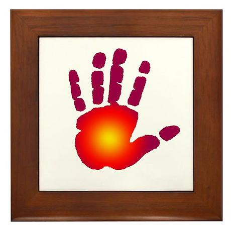 Energy Hand Framed Tile