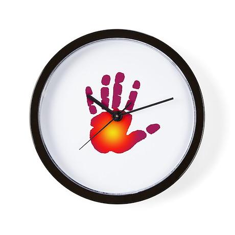 Energy Hand Wall Clock