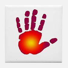 Energy Hand Tile Coaster