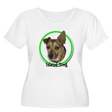 island dog green ring T-Shirt