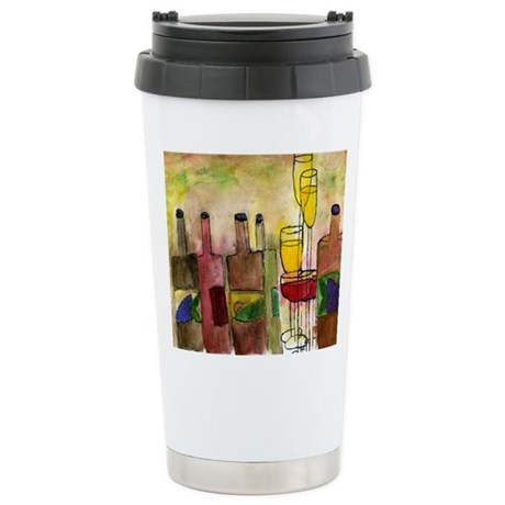 Tuscany Stainless Steel Travel Mug