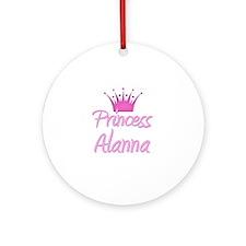 Princess Alanna Ornament (Round)