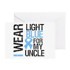 IWearLightBlue Uncle Greeting Card