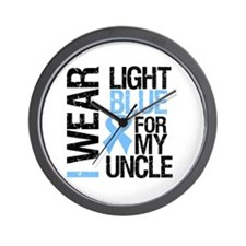 IWearLightBlue Uncle Wall Clock