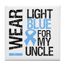 IWearLightBlue Uncle Tile Coaster