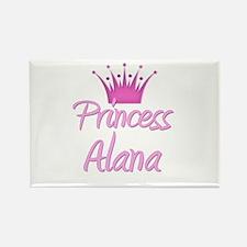 Princess Alana Rectangle Magnet